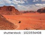 wadi rum  jordan   may 11  2013 ...   Shutterstock . vector #1023556408