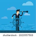 business man  leadership ...   Shutterstock .eps vector #1023557503