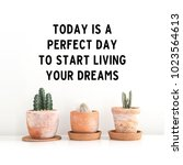 "inspirational quote ""today is a ... 