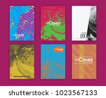 vector cover design template. | Shutterstock .eps vector #1023567133
