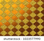 decorative golden glitter... | Shutterstock . vector #1023577990
