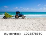 playa del carmen  mexico  ... | Shutterstock . vector #1023578950