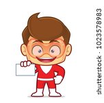 clipart picture of a superhero... | Shutterstock .eps vector #1023578983