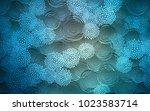 light blue vector doodle... | Shutterstock .eps vector #1023583714