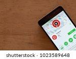 bekasi  west java  indonesia.... | Shutterstock . vector #1023589648