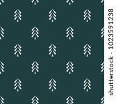 pine tree icon seamless vector...   Shutterstock .eps vector #1023591238