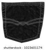 black jeans back pocket... | Shutterstock . vector #1023601174