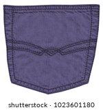 violet jeans back pocket... | Shutterstock . vector #1023601180
