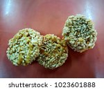 Rice Cracker Rice Crust On A...