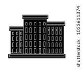 school building icon   Shutterstock .eps vector #1023611374