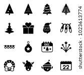 solid vector icon set  ... | Shutterstock .eps vector #1023613774