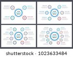 circle infographic templates... | Shutterstock .eps vector #1023633484
