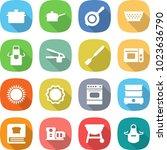flat vector icon set   pan...   Shutterstock .eps vector #1023636790