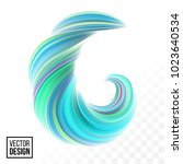 modern vector digital painting... | Shutterstock .eps vector #1023640534