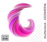 abstract vector digital color... | Shutterstock .eps vector #1023640546