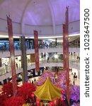 Small photo of Kota Kinabalu, Sabah, Malaysia. February 11, 2018 : Chinese New Year 2018 decoration at Imago Shopping Mall, Kota Kinabalu.