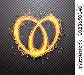 shining light effect design... | Shutterstock .eps vector #1023650140
