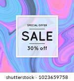 sale. marbling. marble texture. ... | Shutterstock .eps vector #1023659758