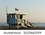 Lifeguard Tower In Santa Monica ...