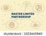 conceptual business... | Shutterstock . vector #1023665860
