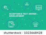 conceptual business...   Shutterstock . vector #1023668428