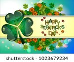 abstrackt of st.patrick s day...   Shutterstock .eps vector #1023679234