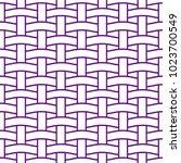 basket weave seamless pattern.... | Shutterstock .eps vector #1023700549