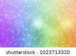 light multicolor vector...   Shutterstock .eps vector #1023713320
