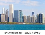 finance district | Shutterstock . vector #102371959