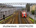 saint petersburg  russia  ... | Shutterstock . vector #1023741250