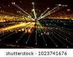 jerusalem light israel | Shutterstock . vector #1023741676