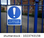 concept of school security or... | Shutterstock . vector #1023743158