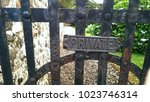 Rusty Iron Gate With A Private...
