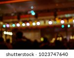 defocused entertainment concert ... | Shutterstock . vector #1023747640