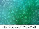 light green vector texture with ...   Shutterstock .eps vector #1023766978