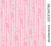 cute seamless pattern. pink and ... | Shutterstock .eps vector #1023769780