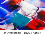 painted abstract background | Shutterstock . vector #1023773584