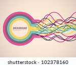 colorful background with... | Shutterstock .eps vector #102378160