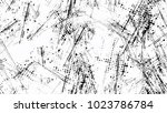 halftone grainy texture with... | Shutterstock .eps vector #1023786784