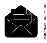 message flat icon   Shutterstock .eps vector #1023798400