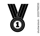 win medal icon | Shutterstock .eps vector #1023798550