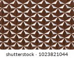 geometric full frame background. | Shutterstock . vector #1023821044