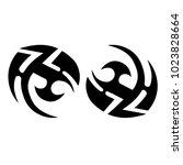 tattoo tribal vector design. | Shutterstock .eps vector #1023828664