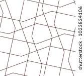 linear pattern mesh  straight ... | Shutterstock .eps vector #1023834106