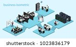 isometric vector illustration... | Shutterstock .eps vector #1023836179