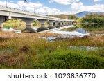 view of beris lake in kedah ... | Shutterstock . vector #1023836770