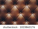 Texture Of Brown Leather Pattern