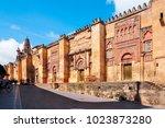 mezquita  great mosque of... | Shutterstock . vector #1023873280