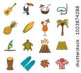 vector illustration with... | Shutterstock .eps vector #1023874288