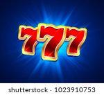 big win slots 777 banner casino ...   Shutterstock .eps vector #1023910753